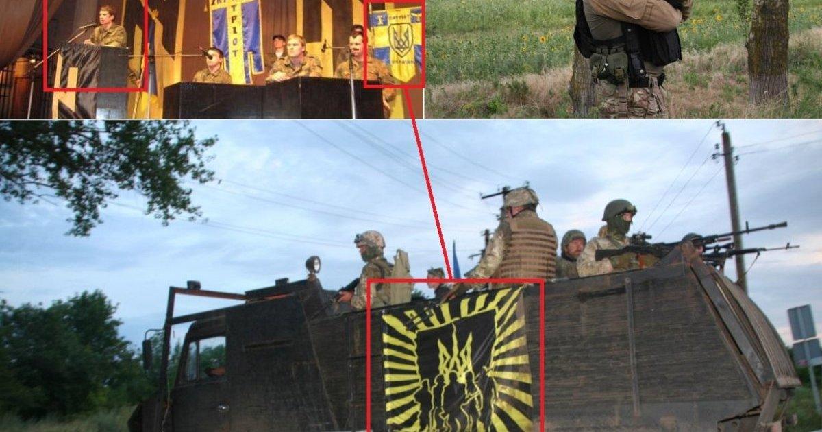 Le mouvement néonazi ukrainien Azov et ses soutiens en