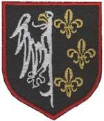 Blason de la division Charlemagne