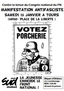 Lille en Résistance : manifestation contre le FN @ Lille   Hauts-de-France   France
