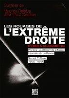 Rennes : conférence sur l'histoire de l'extrême droite
