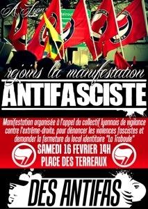 Lyon : manif contre un local identitaire le 16 février
