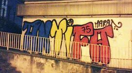 Graffiti colonne gauche