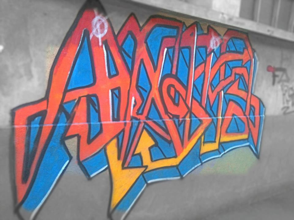 Graffiti antifas (France)