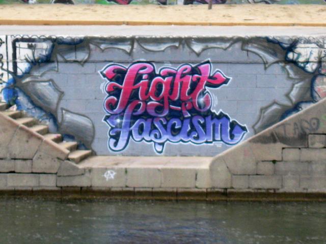 Graffiti antifas (?)