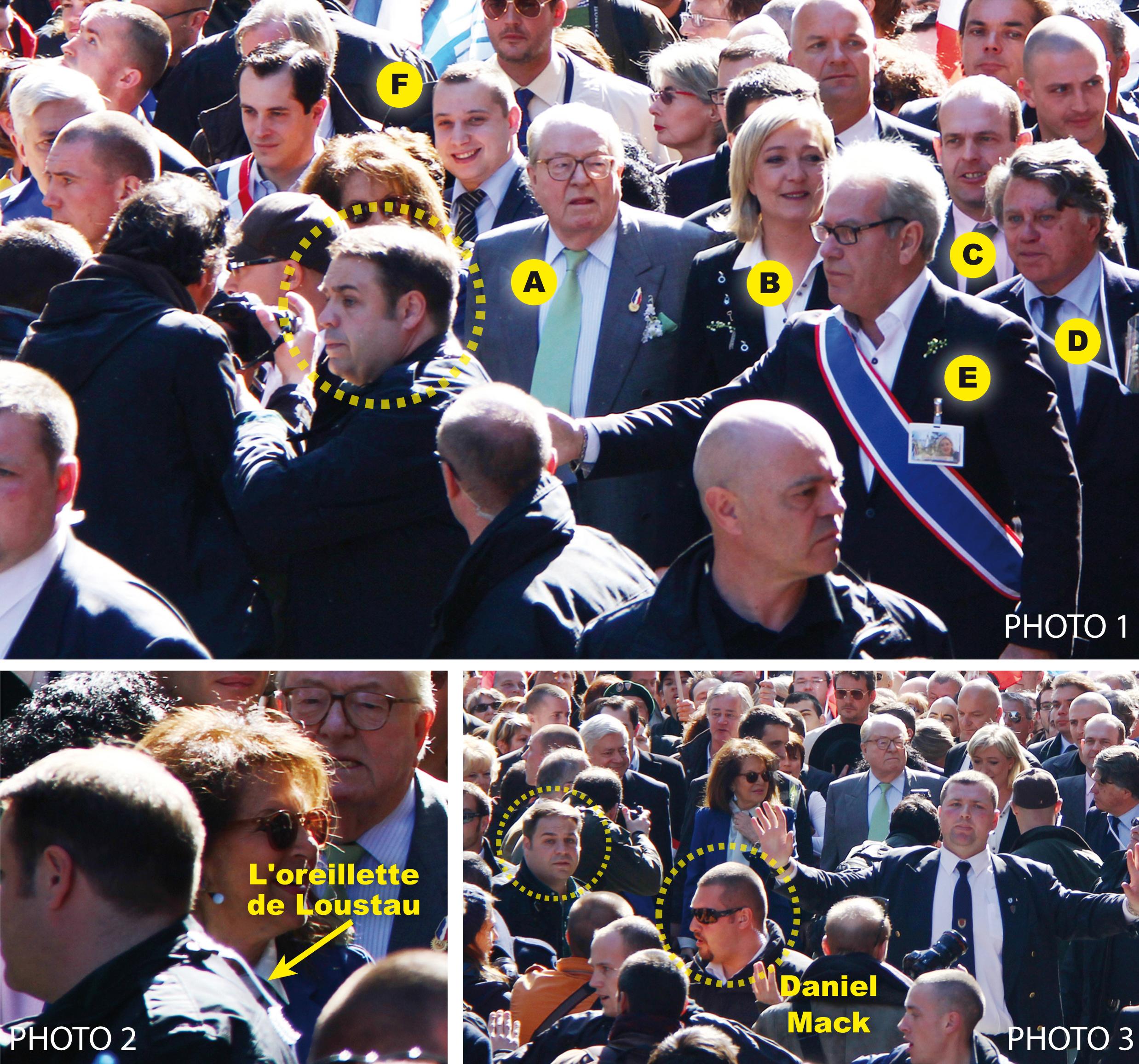 Quand l'extrême droite radicale protège Marine Le Pen…