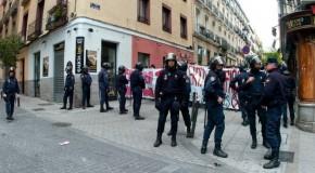 Espagne : Bref résumé de la contre-manif antifasciste – Madrid, 1er mai 2013