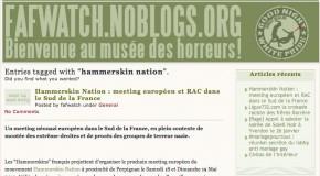 Revue de presse sur le rassemblement Hammerskin du 18 et 19 mai 2013