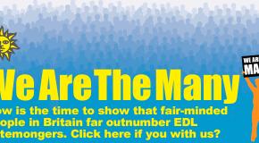 Grande-Bretagne : mobilisation contre l'EDL