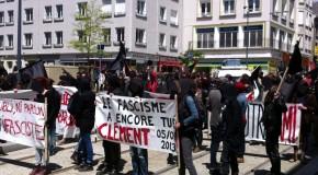 Brest, 22 juin : manif en hommage à Clément (photos)