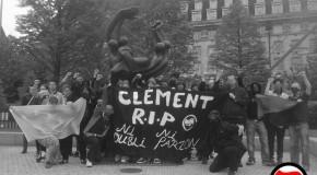 Solidarité internationale avec Clément [photos]