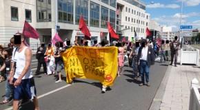 Clermont-Ferrand : manif antifasciste du 22 juin 2013