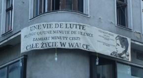 Pologne : un squat de Poznan honore la mémoire de Clément