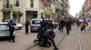 Reims : violences policières contre des antifascistes