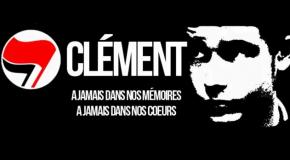 Appel pour commémorer les 6 mois de la mort de Clément