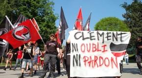 Bruxelles : rassemblement pour Clément