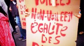 Lille : Provocation policière à la manif de protestation suite à l'agression de la femme voilée d'Argenteuil