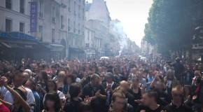 Manifestation à Paris en hommage à Clément (photos)
