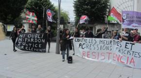 Otmage a Clement Meric ! Manifestacion deu 23 de junh a Pau (photos)