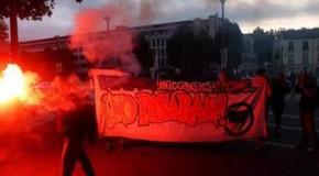 Nantes: veille antifasciste contre les réactionnaires