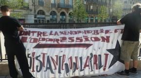 Dijon : manif contre le FN