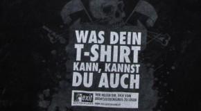 Allemagne, Gera: des t-shirts en forme de cheval de Troie, pour ruser les fachos