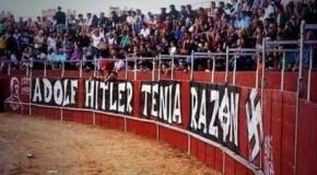 Etat espagnol : dans la banlieue de Madrid, une corrida sous l'œil d'Adolf Hitler