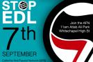 Londres : Appel à manifester contre l'English Defence League le 7 septembre