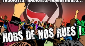 Tours : marche antifasciste