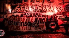 Paris : appel de l'AFA au rassemblement place Saint-Michel en hommage à Pavlos