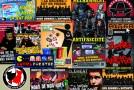 Quelques collages des stickers de La Horde