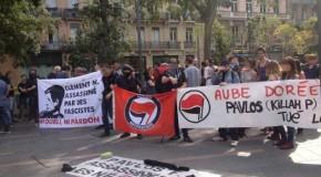 Toulouse : hommage à Pavlos et Clément, la solidarité est notre arme
