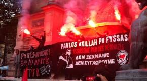 Paris : rassemblement pour Pavlos (photos)