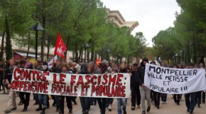 Montpellier : photos de la manif anti-FN