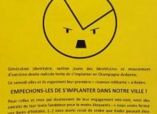 Reims : mobilisation contre les Identitaires