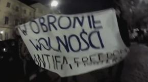 Varsovie : flash-mobs antifascistes en mémoire à la Nuit de Cristal