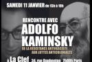 Compte rendu de la rencontre avec Adolfo Kaminsky (11/01/14) – vidéo