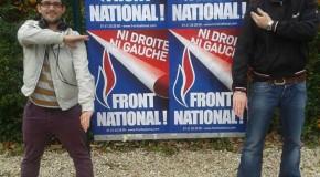 Un militant du Front National Seine-et-Marne adepte de la quenelle de Dieudonné