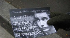 Hommages à Clément : combattons l'extrême droite partout où elle se dresse !