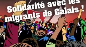 Calais : solidarité avec les migrants face à l'extrême droite