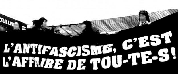 Le 9 février, nous étions 2500 dans les rues de Paris contre l'extrême droite et toutes les formes de fascismes.