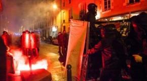 Rennes : nuit de rage contre le FN