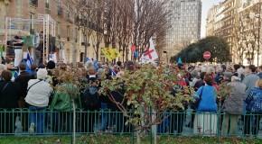 Paris: échec de la manif islamophobe des Identitaires