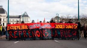 Lyon : Retour sur la manifestation antifa du 22 février