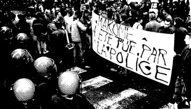 1993 : Makomé est assassiné dans un commissariat parisien