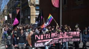 """Toulouse : retour sur la manifestation contre le """"Jour de colère"""" du 5 Avril"""