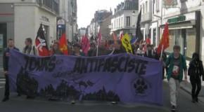 Tours : un militant antifasciste convoqué au tribunal suite à la manifestation du 6 avril