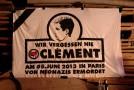 Freiburg : manifestation antifasciste à la mémoire de Clément et de touTEs les autres