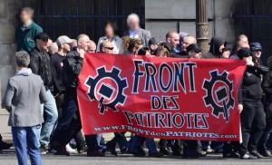 Front des Patriotes, à Paris en mai 2013.