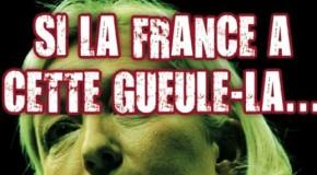 La Horde : nouveau sticker et affiche anti-FN