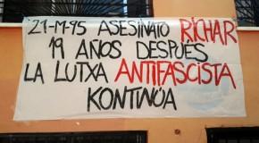 Espagne : Richar, 19 ans après, la lutte antifasciste continue